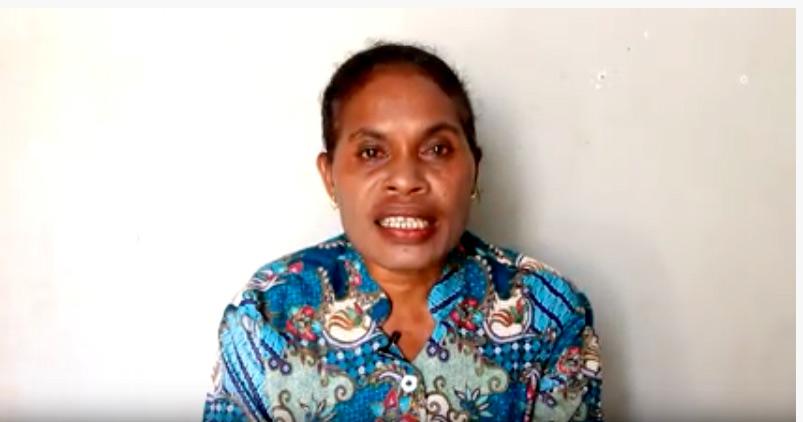 Linda Wanggai : Sembuh Sakit pada Tulang Ekor  di KPPI Jakarta 18 Juli 2019