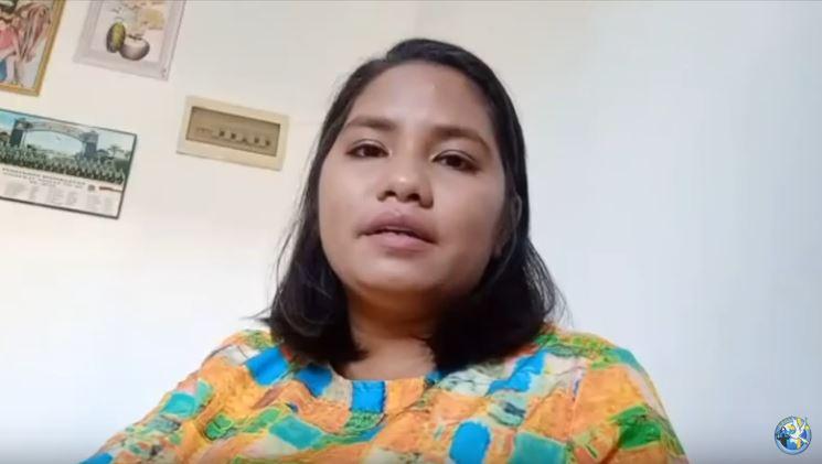 Shika Freitas: Sembuh dari Sakit Pinggang 6 tahun, di KPPI Online 14 Mei 2020