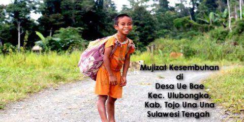 Kris : Sembuh Dari Sakit Kepala Menahun di KKR Kesembuhan di Desa Ue Bae, Kecamatan Ulubongka, Kabupaten Tojo Una-una, Sulawesi Tengah
